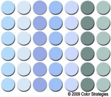 No mischievous spirits will be crossing into your house with any of these shades of haint blue. Image: www.squidoo.com