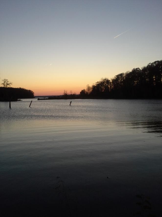 Sunset at Mallows Bay
