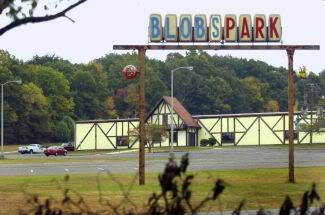 The front exterior of Blob's Park in Jessup, MD  photo credit: photoblog.baltimoresun.com