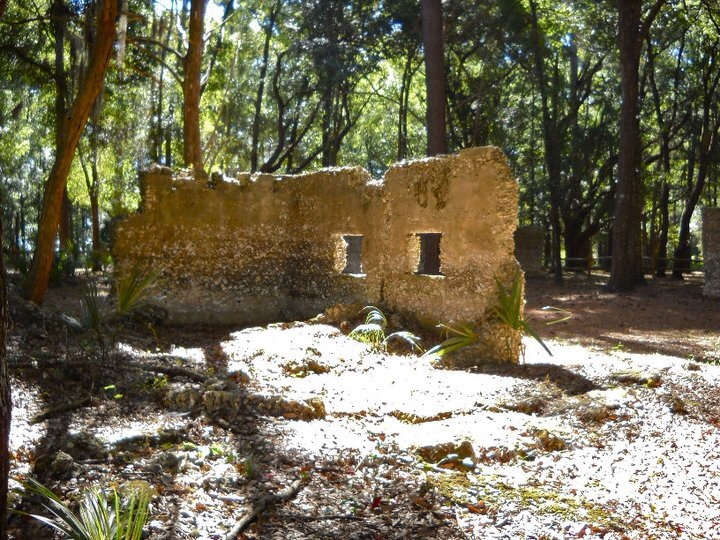 More of the ruins of the sugar mill on Tolomato Island.